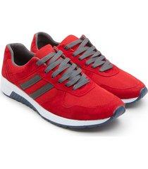 tenis hombre rojos color rojo, talla 42