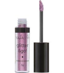 glitter para rosto e corpo vult - glitter & go conto de fadas