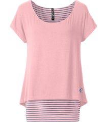 maglia lunga 2 in 1 (rosa) - rainbow