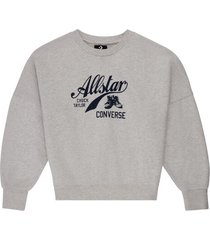 chuck taylor archive script sweater