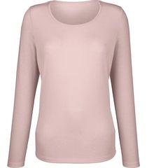 shirt dress in lichtroze