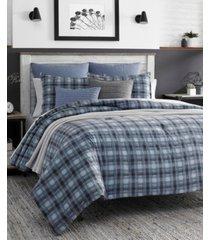 nautica jeans co pinecrest full/queen duvet set bedding