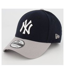 boné new era mlb new york yankees 940 preto e cinza