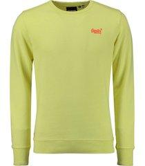 sweater pastelline geel