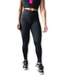 calã‡a legging dzjjo cintura alta  feminina dt004 preto - preto - feminino - poliã©ster - dafiti