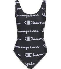 swimming suit baddräkt badkläder svart champion