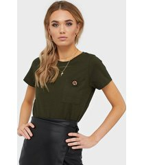river island turnback button tee t-shirts