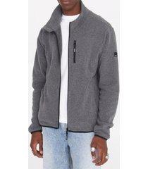 bench urbanwear gilbert zip through fleece jacket