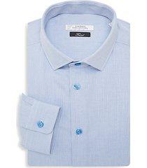 trend fit textured dress shirt