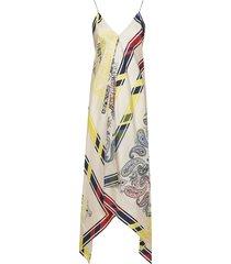 golden goose bandana print blanket dress