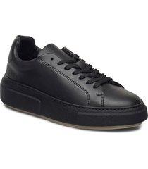 392g black vegan leather snörade skor låga svart gram