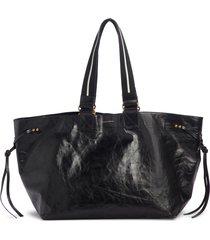 isabel marant wardy new leather shopper -