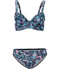 bikini con ferretto (set 2 pezzi) (nero) - bpc bonprix collection