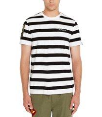 avirex men's stripe t-shirt