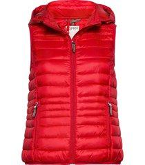 vests outdoor woven vest rood esprit casual
