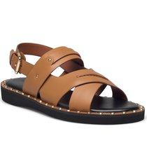 gemma sandal gemma sandal womens shoes shoes summer shoes flat sandals brun coach