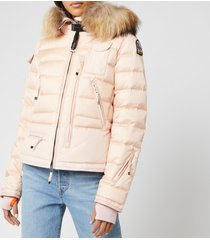 parajumpers women's skimaster coat - powder pink - m