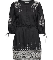 puffy toughie dress jurk knielengte zwart odd molly