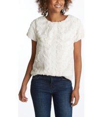 adyson parker women's short sleeve sherpa pullover top