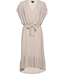 brielle jurk knielengte crème ravn