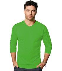 camibuzo para hombre verde neon mp