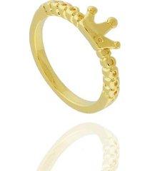 anel dona diva semi joias coroa