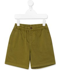 caramel barbican fitted shorts - green