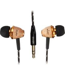 audífonos bluetooth, awei q5 auriculares estéreo de auriculares estéreo de alta fidelidad en el oído (beige)