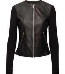 jacket läderjacka skinnjacka svart depeche