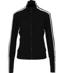 norma kamali side stripes track jacket