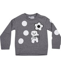 simonetta sequin detail sweatshirt