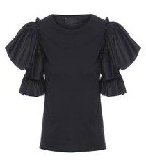 camiseta feminina sabia - preto