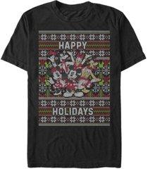 fifth sun men's mickey six sweater short sleeve t-shirt