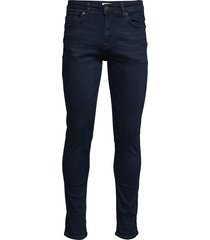 slhslim-leon 6155 blubl su-st jns w noos slimmade jeans blå selected homme