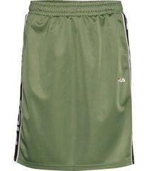 women tarala skirt kort kjol grön fila
