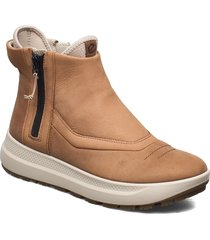 solice shoes boots ankle boots ankle boot - flat beige ecco
