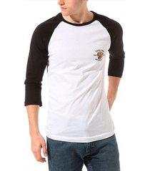 t-shirt lange mouw vans men's growler raglan tshirt