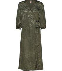 leo holiday dress maxiklänning festklänning grön becksöndergaard