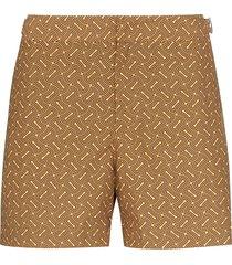 orlebar brown setter nerano swim shorts - yellow
