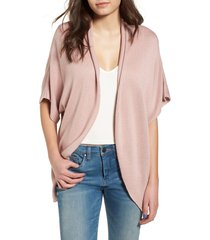 women's leith dolman sleeve cardigan, size large - pink