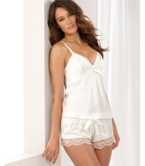 flora by flora nikrooz satin diva camisole and shorts set