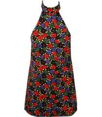 saint laurent retro` flower dress