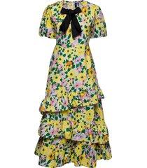 clemmentrs dress maxiklänning festklänning multi/mönstrad résumé