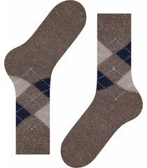 burlington socks tweed argle | brown marl | 21924-5622