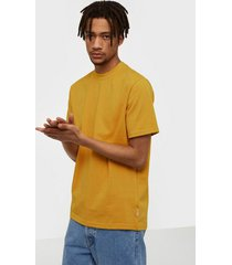 only & sons onskadi reg ss tee t-shirts & linnen orange