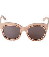 51mm square cat eye sunglasses