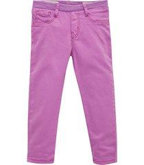 pantalon morado  offcorss