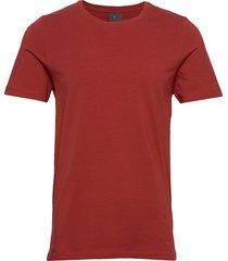 kyran t-shirt t-shirts short-sleeved röd oscar jacobson