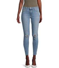 joe's jeans women's mid-rise skinny ankle jeans - markham - size 30 (8-10)