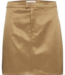 gina skirt 11155 kort kjol beige samsøe samsøe